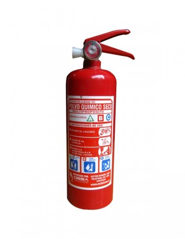 Extintor PQS 2kg 90%